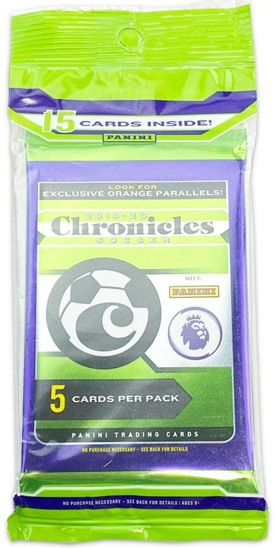 2019-20 Panini Chronicles Soccer Multi-Pack Cello Pack
