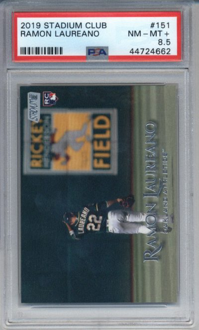 2019 Stadium Club #151 Ramon Laureano PSA 8.5