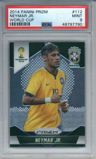 2014 Panini Prizm World Cup #112 Neymar Jr. PSA 9
