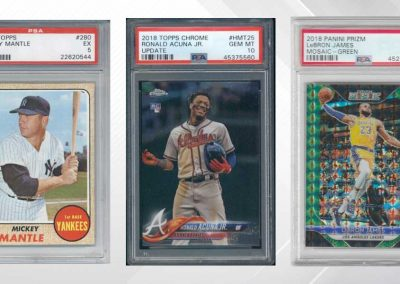 "Sports Cards – The New ""Asset Class"""